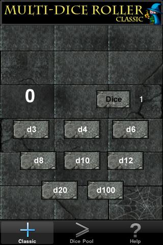 Screenshot MultiDice Roller